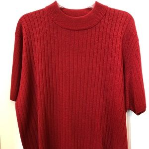 Red Sag Harbor Sweater Top
